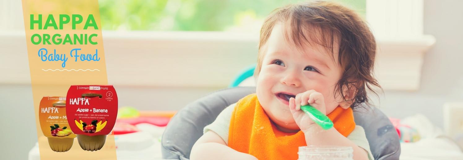 Happa Organic Baby Food