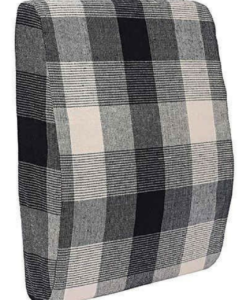 Comfeed Pillows By Nina Back Support Pillow - Black & White