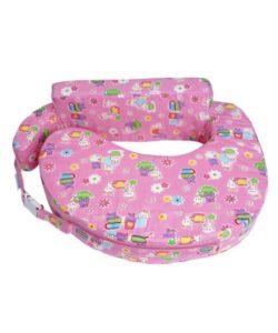 Comfeed Pillows By Nina Nursing and Feeding Pillow - Pink - Rabbits