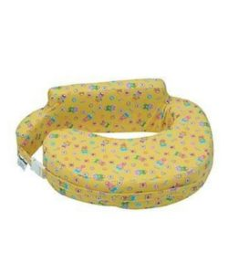 Comfeed Pillows By Nina Nursing and Feeding Pillow Teddy Bear Print - Yellow