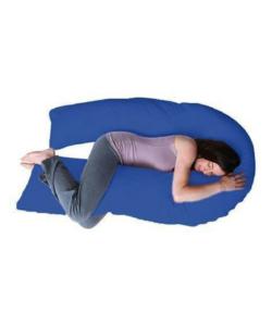 Comfeed Pillows By Nina U Pregnancy Pillow - Blue