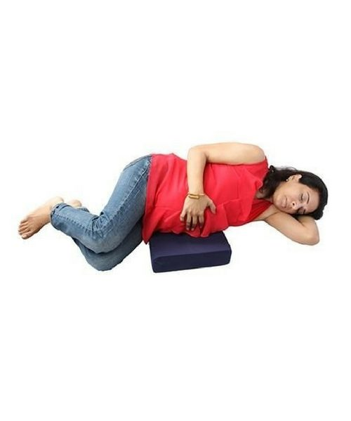 Comfeed Wedge Pillow By Nina - Navy Blue