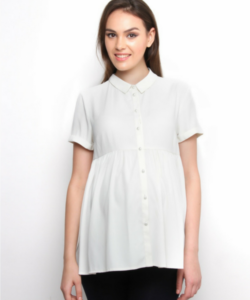 Maternity White shirt