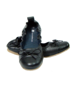 Black Maternity Ballerinas
