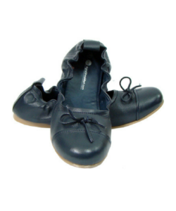 Blue Maternity Ballerinas