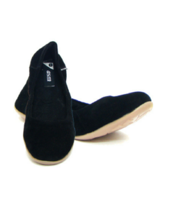 Velvet Fabric Upper Black