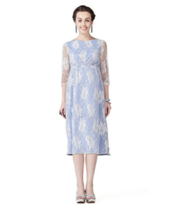House of Napius Radiation Safe Contrasting Lace Dress