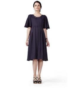House of Napius Radiation Safe Flare Sleeves Dress