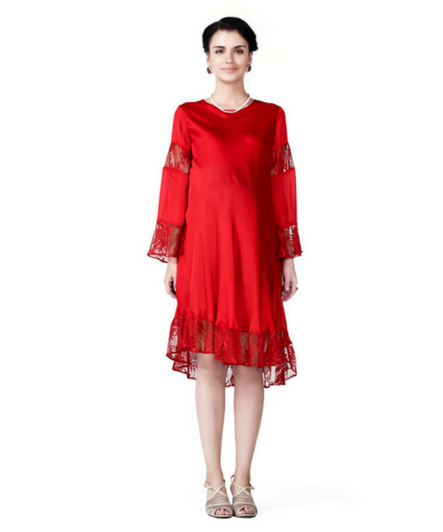 5f7a0aaaf61 House of Napius Radiation Safe Long Maternity Dress - All Maternity Needs  Under One Roof - Awww India