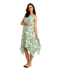 House of Napius Radiation Safe Printed Maxi Dress
