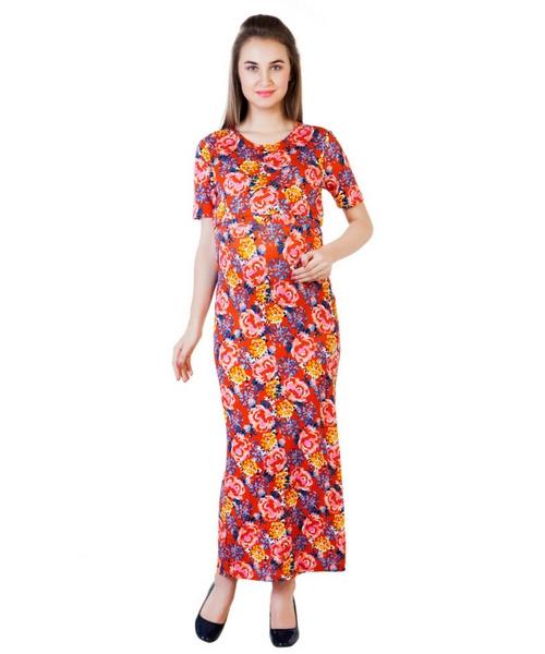 a1e420a3c61f0 Blush 9 Maternity's Double Layer Maxi Maternity and Nursing Dress ...