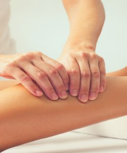 Leg Ayurvedic Massage