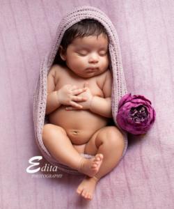 Newborn Baby Photoshoot by Edita