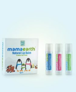 Natural Lip Balm for Baby, Mama & Papa (Set of 3) (1)