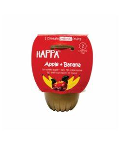 Happa Apple Banana Front Baby Food