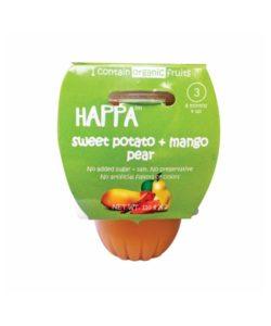 Happy Sweet Potato Mango Pear Front Baby Food