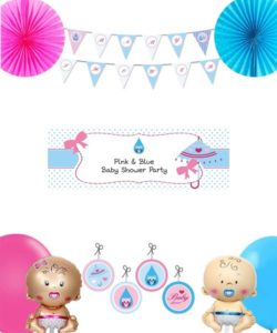 Pink and Blue DIY baby shower boxes pics (1)