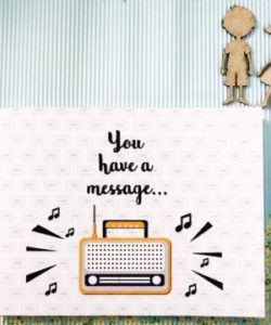 you have a message 1