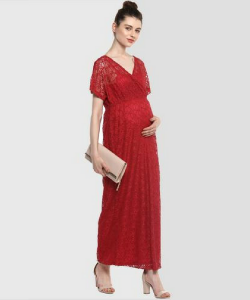 Momsoon Formal Lace Maxi