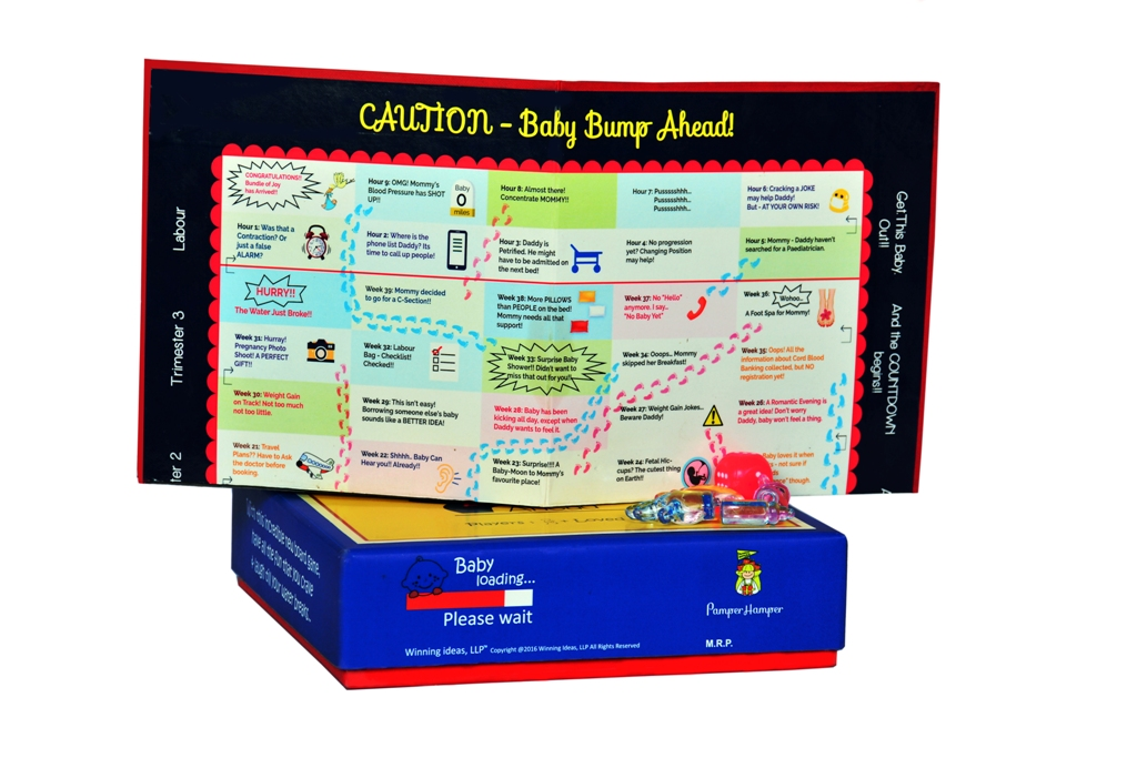 Baby Bump Ahead Pregnancy Board Game All Maternity